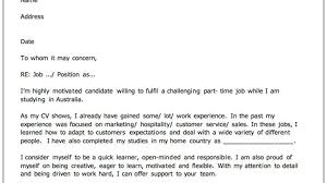 cover letter addressed address should have unknown cover letter selection criteria