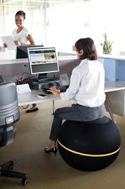 ball office chair exercise