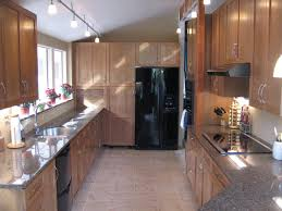 long track lighting. Simple And Long Track Lighting For Kitchen Idea C