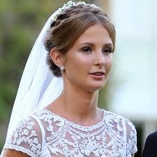 millie mackintosh s understated wedding hair and makeup yahoo lifestyle uk