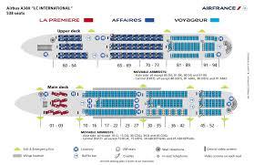 Air France A380 Seatmap Air France Airbus A380 A380 Aircraft
