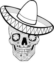 Small Picture Sensational Dia De Los Muertos Coloring Pages Complicolor Day Of