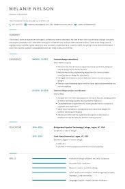 Interior Design Keywords List Interior Design Resume Examples Template Complete Guide
