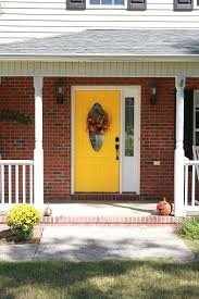 yellow brick house red door. Inspiration Of Yellow Brick House Red Door With 41 Best Paint Colours For Images On Pinterest K