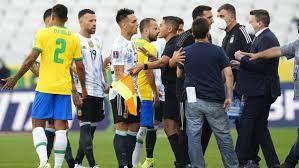 Kronologi Laga Brasil Vs Argentina ...