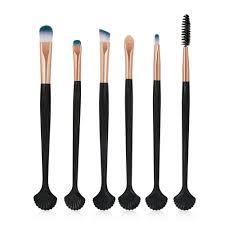 kobwa 6pcs scofieldly makeup brushes set makeup brush cosmetic brushes eyeshadow eyeliner blush brushes