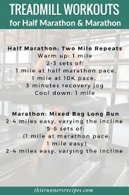 Treadmill Workouts For Race Training From The 5k To Marathon