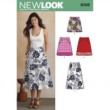 Skirt Patterns New New Look 48 Women's Skirt Sewing Pattern