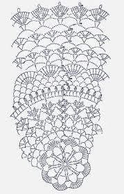 Doily Chart Crochet Doily Diagram Crochet Doily Patterns