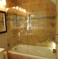 bathtub design bathroom bathtub doors enchanting completed with in white combined sepia tile wall and frameless