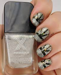 New Year's Eve nail art with Formula X Explosive + Moon Walk | Be ...
