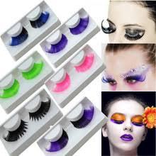 fashion crazy long curl false eyelashes costume party makeup beauty tool cosplay china