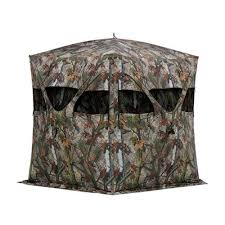 picture of hc250bt blind hub cat 250 blood trail camo