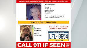 CANCELED* Amber alert issued for 4-year ...