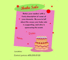 Bake Sale Flyer Templates Free 32 Bake Sale Flyer Templates Ai Psd Publisher
