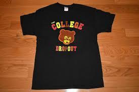 New Kanye West The College Dropout T Shirt Gildan Reprintt