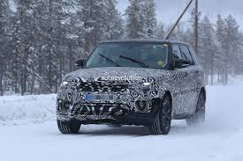 land rover defender 2018 spy shots. unique defender 2018 range rover sport facelift plugin hybrid spied and land rover defender spy shots 8