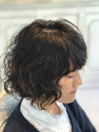 縮毛矯正やめたいくせ毛を活かすカットとパーマで脱縮毛矯正実例