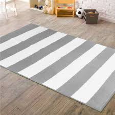 photo 3 of 7 gray striped rug 3 mainstays kids rugby stripe rug grey white
