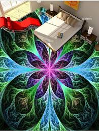 custom 3d photo wall paper floor colorful 3d painted floor tiles 3d wall murals wallpaper floors