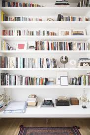 How to Style a Bookshelf. White BookshelvesBookcasesBookcase ...