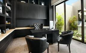 Executive Home Office Black Executive Home Office Furniture