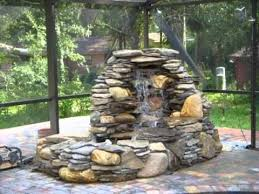 Small Picture Backyard Fountain Ideas Backyard Landscape Design
