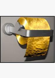 24k gold toilet paper. 24k gold toilet paper \u2013 $1.265 million per roll n