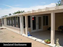 aluminum patio enclosures. The Heat Radiates Through Aluminum, And Leaves Get Caught In  Gutter. Our Ultimate Patio Cover Stops Transfer Keeps You From Having To Aluminum Patio Enclosures