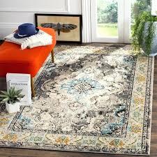 safavieh blue rug house a bohemian medallion grey light blue distressed rug safavieh heritage blue rug