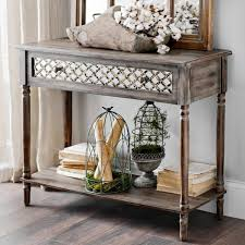 distressed mirrored furniture. Furniture, Distressed Mirrored Console Table Sample: Elegant Designs Furniture