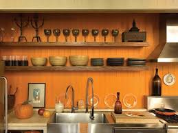 orange color kitchen design. love this wall color! - kitchens in color: ideas for brightening the kitchen with orange color design