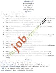 Sample Social Worker Resume Example Www Freewareupdater Com