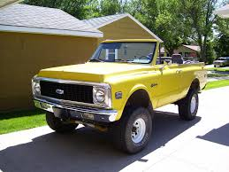 1971 Chevrolet Blazer - Information and photos - MOMENTcar