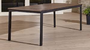 Rocha II Rectangular Dining Table + Reviews | Crate and Barrel