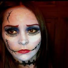 sally nightmare before makeup