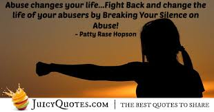 Abuse Quotes Adorable Fight Abuse Quote With Picture