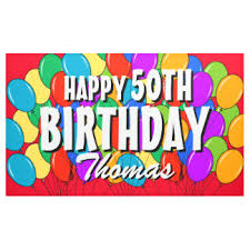 custom happy birthday banner happy birthday banners signs zazzle