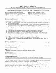 Computer Skills Resume Sample New 9 Sample Resumes Skills Hostess