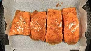 Panggang salmon sehingga naik bau. Resepi Ikan Salmon Salai Enak Dan Mudah Resepi Pemakanan