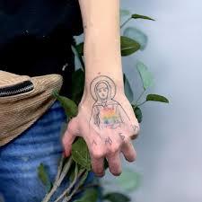 тату в стиле тюремной наколки зажившая мсктату таганкамосква