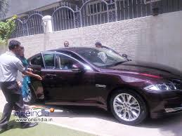 priyanka upendra gifts jaguar car to upendra on his birthday photos