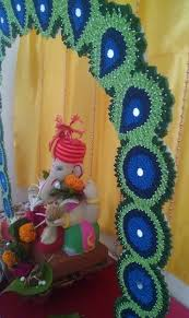 ganpati decoration ideas ganesh pooja decoration craft and