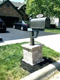 craftsman style mailbox. Modren Craftsman Craftsman Style Mailbox  Installation Home Depot   With Craftsman Style Mailbox I