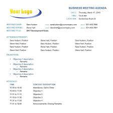 Agenda Templates Free Free Creative Meeting Agenda Templates