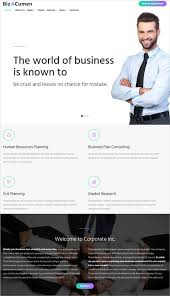 Business Website Templates Interesting 48 Dynamic PHP Website Themes Templates Free Premium Templates