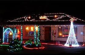 Outside Christmas Lights  Display  Free VideoSolar Xmas Lights Australia