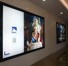 Led Light Display Advertising Board Indoor Advertising Display Slim Crystal Led Light Sign Board Buy Wall Mounted Slim Light Box Advertising Display Crystal Light Box Indoor