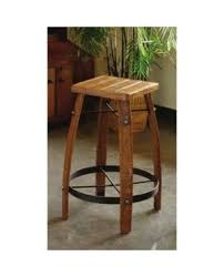 wood barrel furniture. 2 Day Designs Stave Stool With Wood Top Barrel Furniture 0