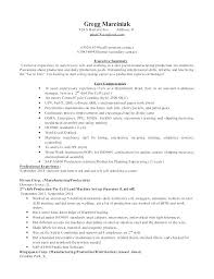 Production Manager Resumes Manufacturing Executive Sample Resume Podarki Co